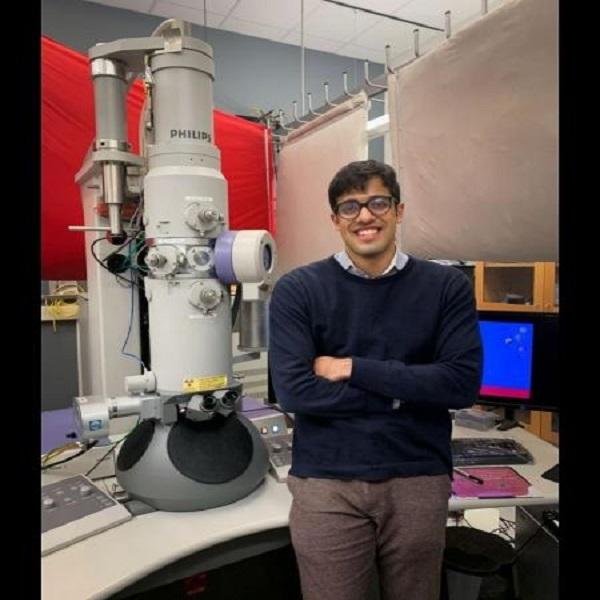 Physics undergraduate student Eshan Mehrotra