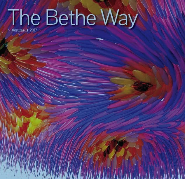 Colorful cover of Bethe Way newsletter